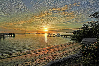 Photograph - Mornings Embrace by HH Photography of Florida