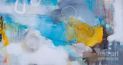 Expresion Painting - Mornings Feeling-2 by Ira Ivanova