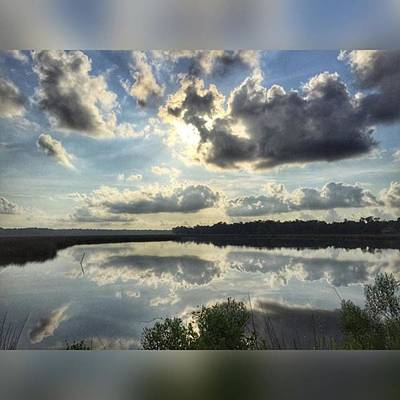 Iphone Photograph - Morning's Reflection #gulfcoastlife by Joan McCool