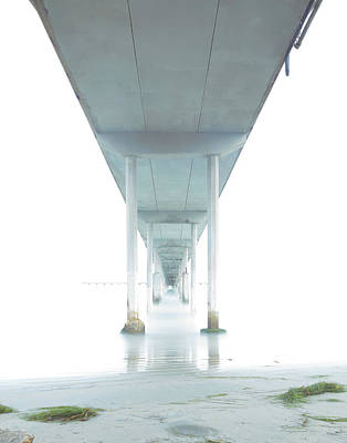 Photograph - Mornings Underneath The Pier by James Sage