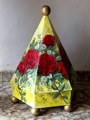 Mixed Media - Moroccan Candy Box by Patricia Rachidi