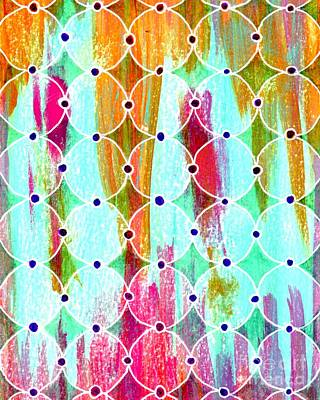 Moroccan Mixed Media - Moroccan Circles 2 by Desiree Paquette