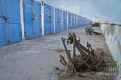 Photograph - Moroccan Fishermen's Huts by David Birchall