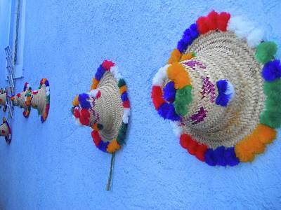 Exploramum Photograph - Moroccan Hats by Exploramum Exploramum