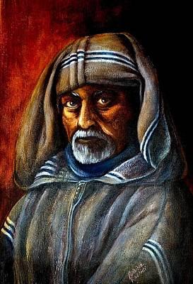 Moroccan Man Art Print