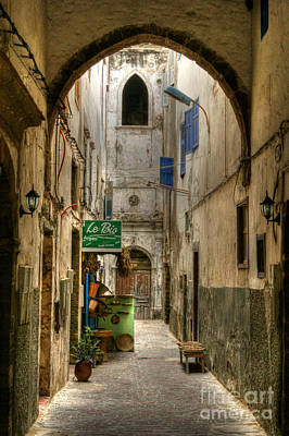 Photograph - Moroccan Medina by David Birchall