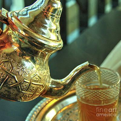 Moroccan Mint Tea  Art Print