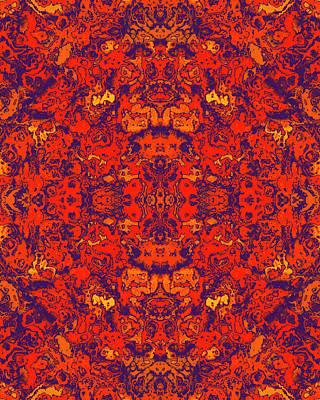 Digital Art - Moroccan Red by Tammy Wetzel