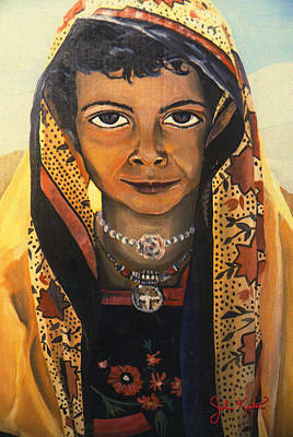 Painting - Moroccan Smile by John Keaton