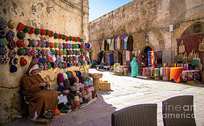 Photograph - Moroccan Street Vendor by Rene Triay Photography
