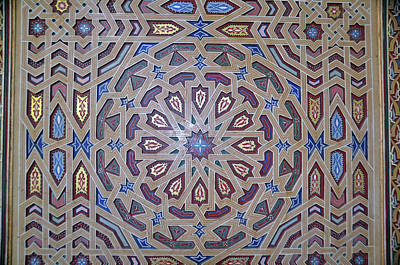 Photograph - Morocco Tile Work by Allan Rothman