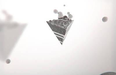 Morph // Escape Art Print by Justin Ortiz