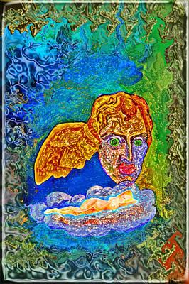 Morpheus. Greek Mythology.  Erotic Graphics.  Original by Andy Za