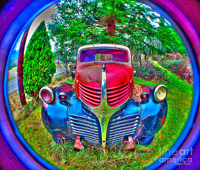 Photograph - Morphing Mopar by Clayton Bruster