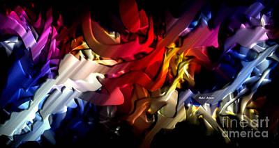 Digital Art - Morphism Of Desire by Rafael Salazar