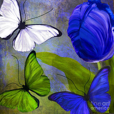 Morphos I Art Print by Mindy Sommers