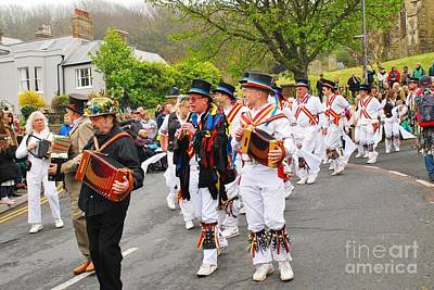 Photograph - Morris Dancers At Jack In The Green by David Fowler
