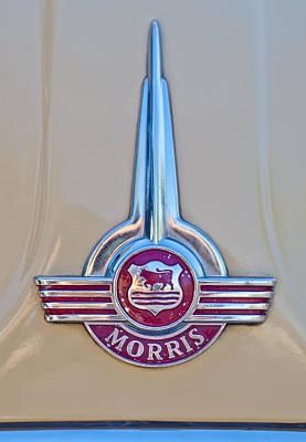 Photograph - Morris Hood Emblem by Jill Reger
