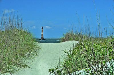 Photograph - Morris Island Lighthouse  by Allen Beatty