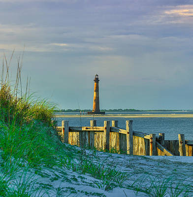 Photograph - Morris Island Lighthouse  by Donnie Whitaker
