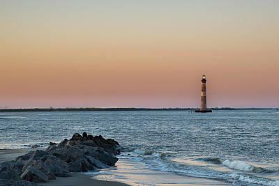 Morris Island Lighthouse Art Print by Drew Castelhano