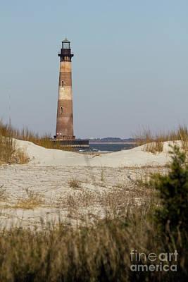 Morris Island Lighthouse Photograph - Morris Island Lighthouse Folly Beach South Carolina by Dustin K Ryan