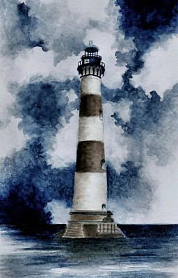 Morris Island Lighthouse Painting - Morris Island Lighthouse by Michael Vigliotti