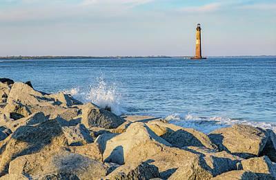 Photograph - Morris Island Lighthouse by Patricia Schaefer