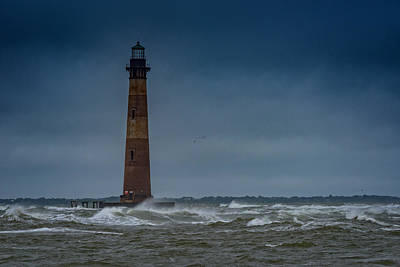 Morris Island Lighthouse Photograph - Morris Island Lighthouse by Rick Berk