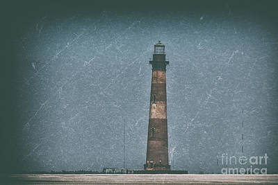 Photograph - Morris Island Lighthouse Southern Style by Dale Powell