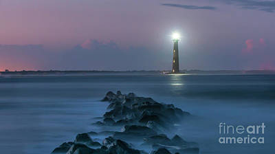 Photograph - Morris Island Lighthouse Treasure by Dale Powell