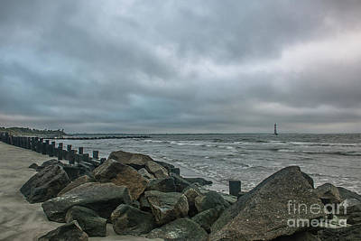 Photograph - Morris Island Rocky Shores by Dale Powell