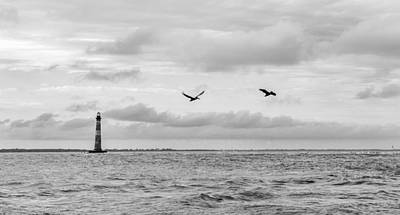 Photograph - Morris Lighthouse by Dustin Ahrens