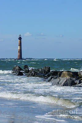 Photograph - Morris Lighthouse Folly Beach by Jennifer White