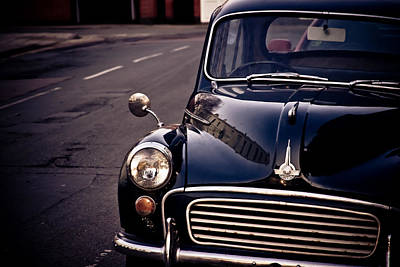 Morris Minor Art Print by Justin Albrecht