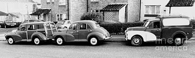 Photograph - Morris Minors by Anthony Manders