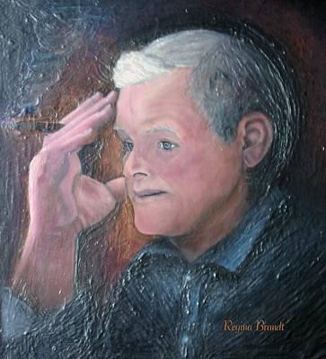 Painting - Morris by Regina Brandt