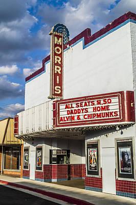 Austin Photograph - Morris Theater Daingerfield Texas by Craig David Morrison