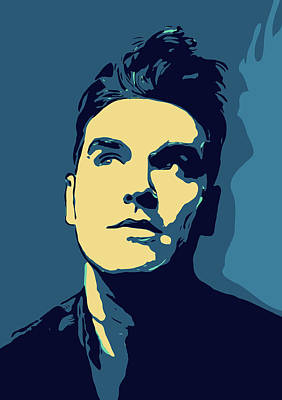 Musician Royalty-Free and Rights-Managed Images - Morrissey by Greatom London