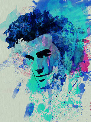 Rock Stars Painting - Morrissey by Naxart Studio