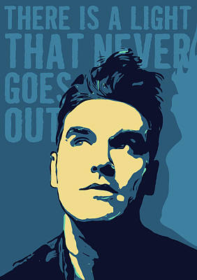 Lyrics Wall Art - Digital Art - Morrissey by Greatom London