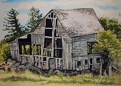Morristown Barn Ny Art Print