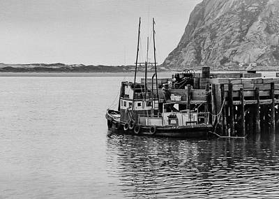Photograph - Morro Bay 1979-3 by Gene Parks