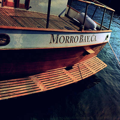Photograph - Morro Bay Boat by Bill Owen