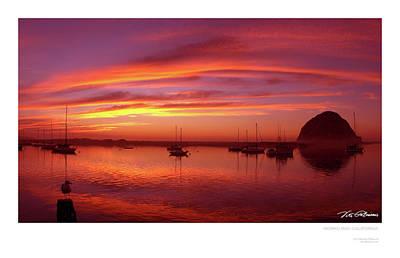 Morro Bay Ca Photograph - Morro Bay, Ca by Vito Palmisano
