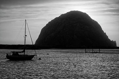 Photograph - Morro Bay I Bw by David Gordon