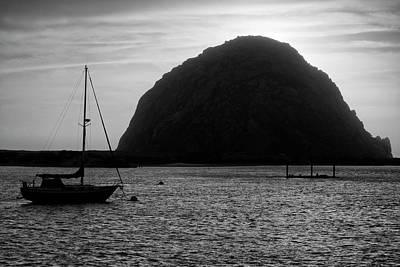 Photograph - Morro Bay I Bw by David Gordon