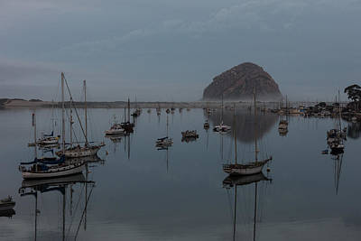 Photograph - Morro Bay Reflection by John Johnson