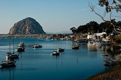 Photograph - Morro Bay Rock by Roger Mullenhour