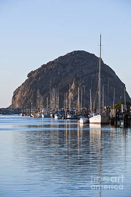 Morro Bay Sailboats Art Print by Bill Brennan - Printscapes
